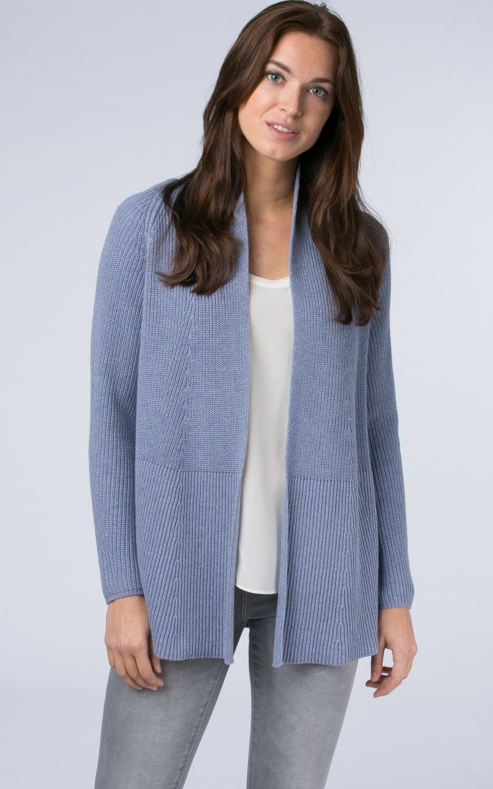 Cotton chunky cardigan by @REPEATcashmere #cotton #cardigan ...