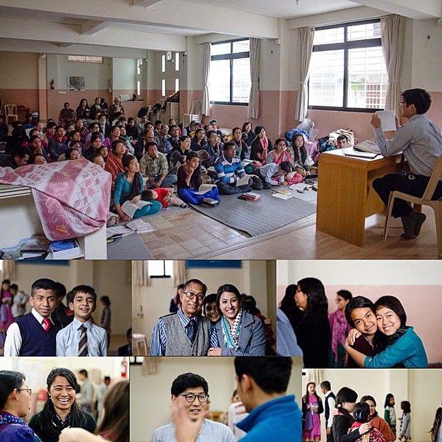 Primeira Reunião no Nepal após o terremoto. (First Meeting in Nepal after the quake.)