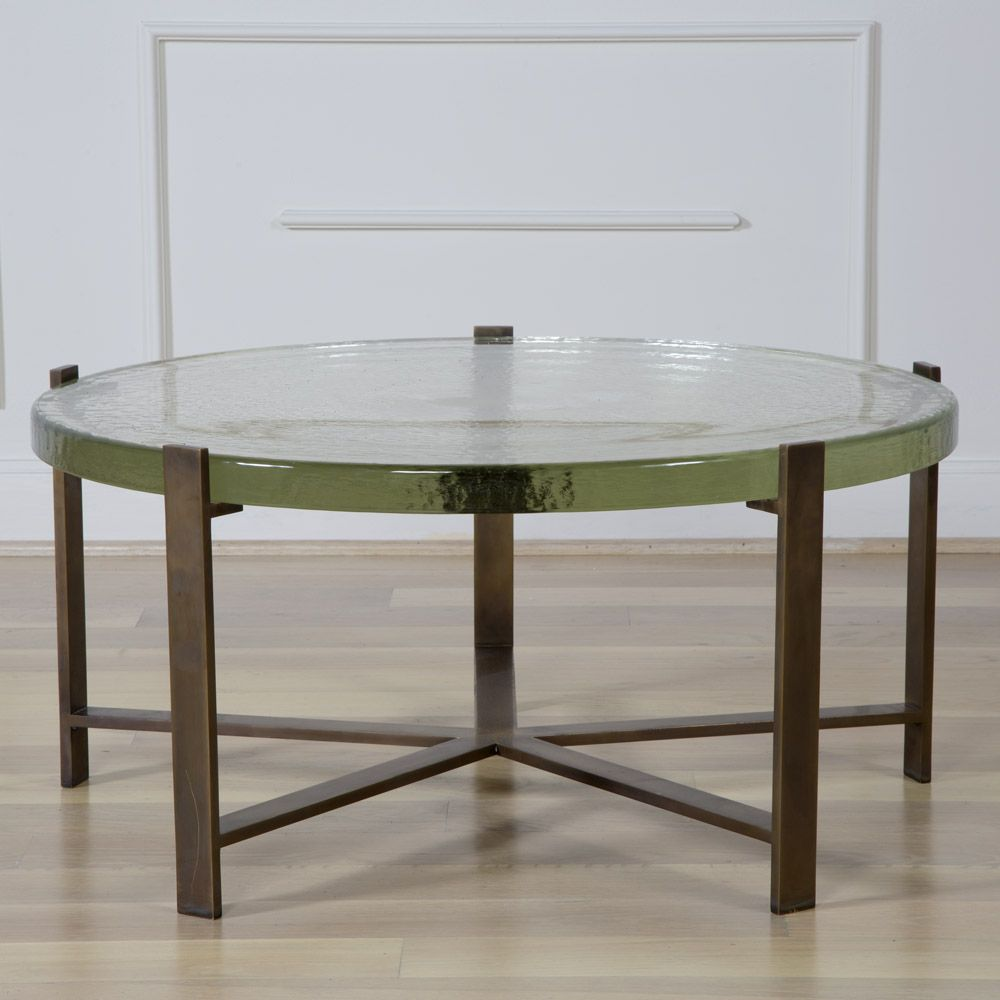 Kelly Wearstler Pickfair Coffee Table Solid Burnished Bronze