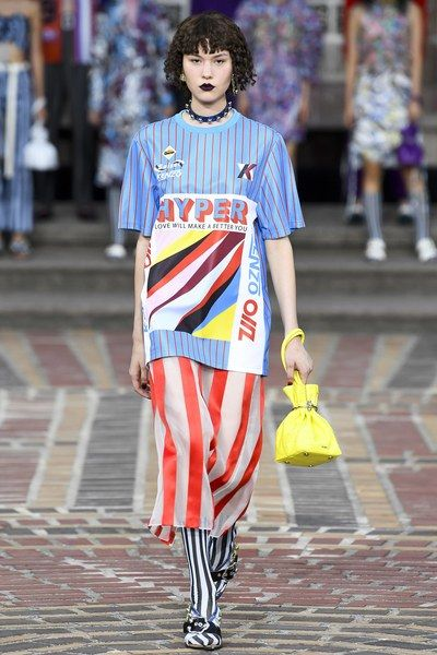 84bbf6c7a Kenzo Spring 2018 Ready-to-Wear Fashion Show | research/ RUNWAY ...