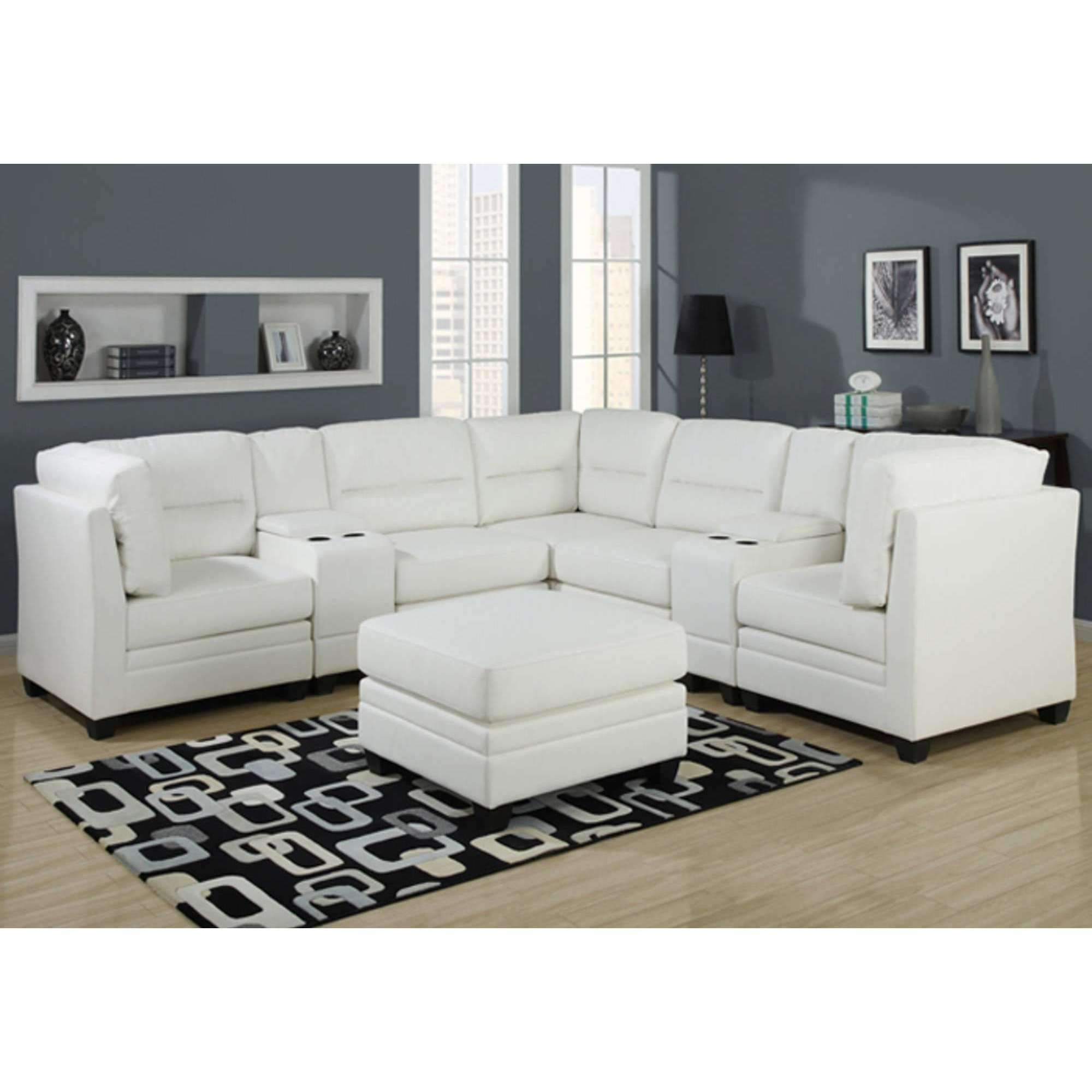 54 Cool White Leather Sofas For Sale In 2020 White Leather Sofas Sectional Sofa Leather Sectional Sofas