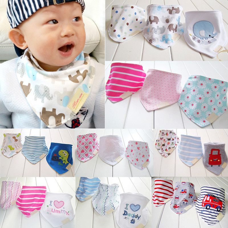 Baby  Bandana  Bibs  Highly  Absorbent  Quality  Cotton. #bothwinnerproduct