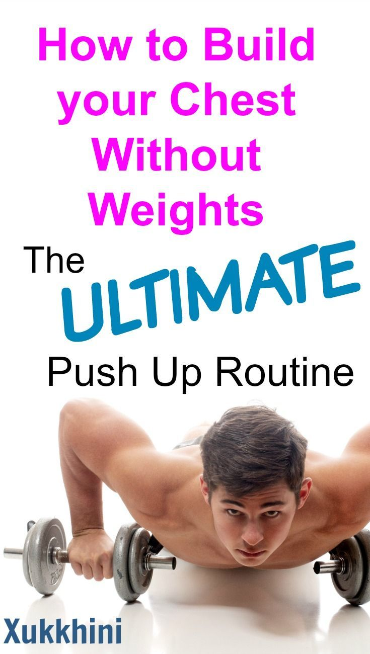 Chest Workout At Home