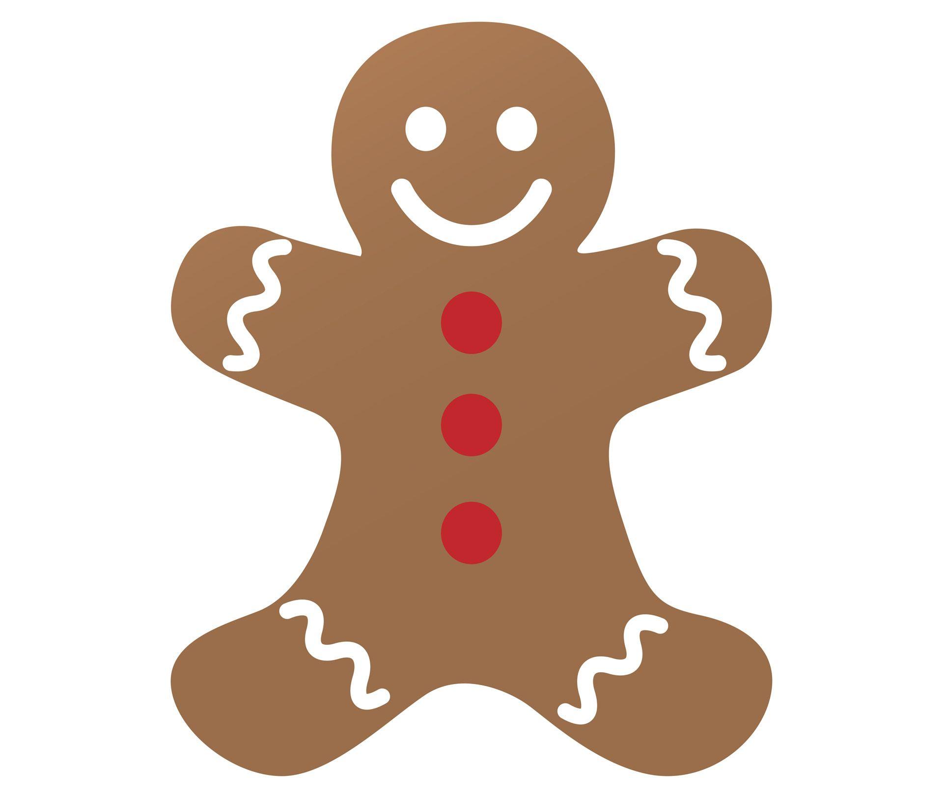 Coyote Gingerbread Man Clip Art 1 Clip Art Vector Site