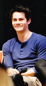 Teen Wolf Men - Dylan O'brien at Alpha Con