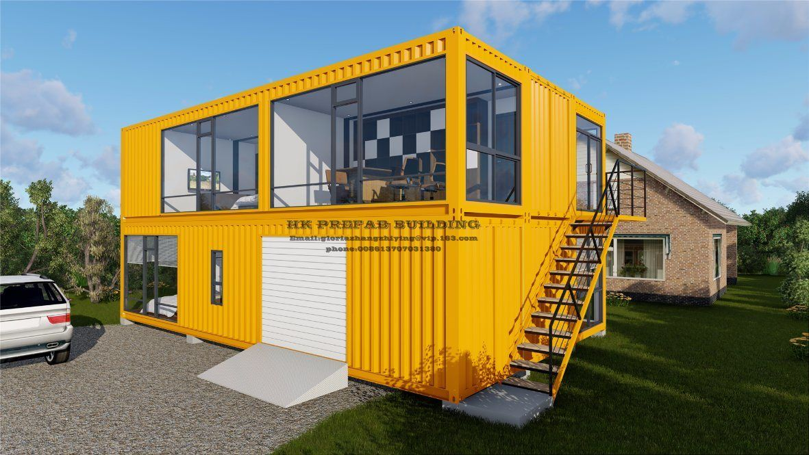 Movable Prefab Prefabricated Shipping Container House China