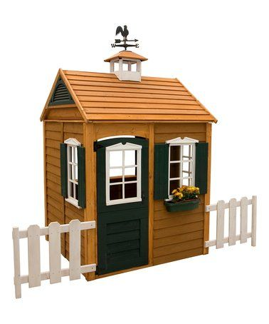 This Bayberry Playhouse is perfect! #zulilyfinds   Play ...