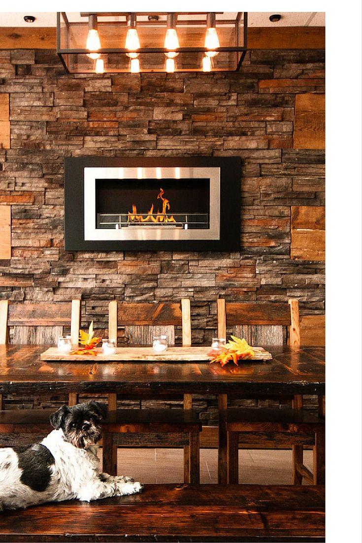 The Bio Flame Lorenzo 45 Built In Wall Mounted Ethanol Fireplace Ethanol Fireplace Fireplace Ventless Fireplace