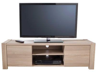 Meuble TV - BOHAN - Meuble TV - Hifi - Vidéo - 474199 Maison Trets - Meuble Tv Avec Rangement