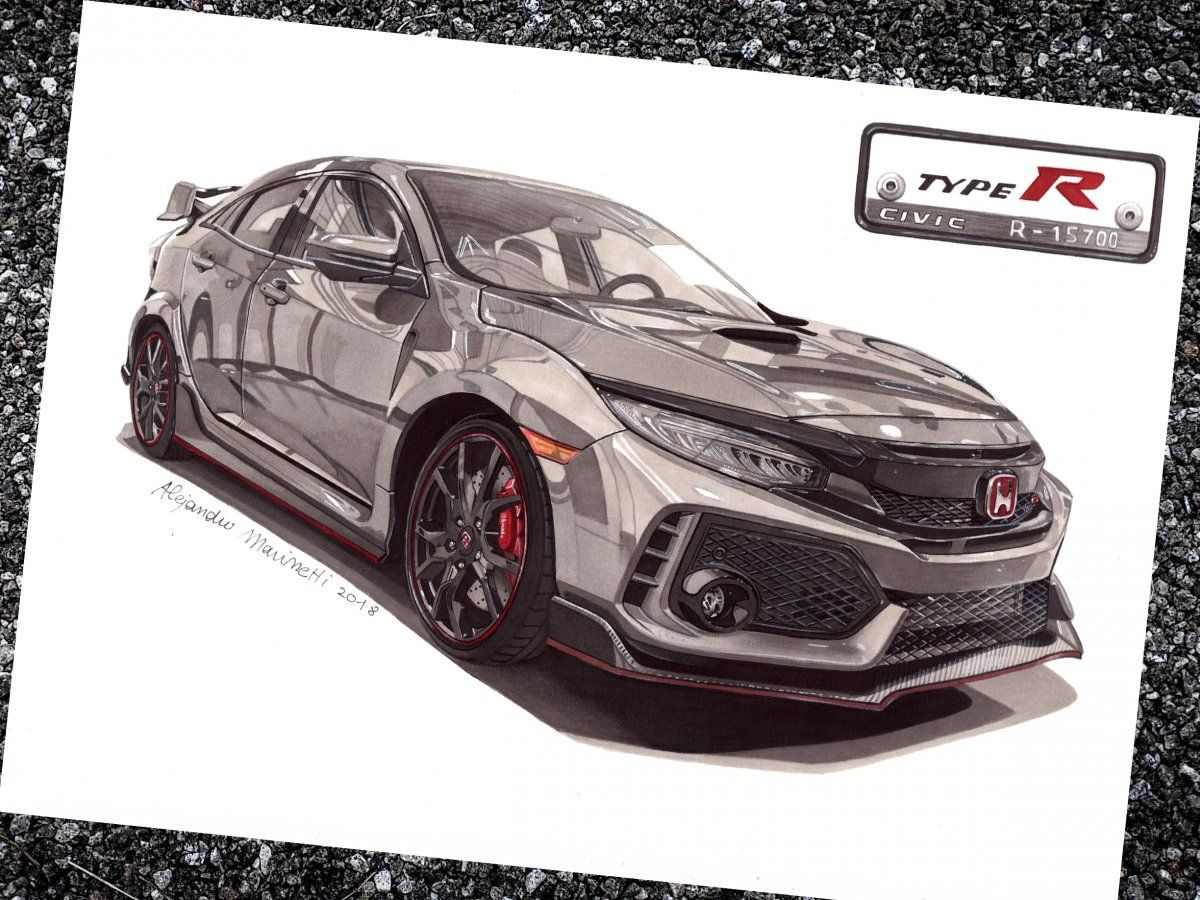 Follow Me On Instagram A M Car Design Honda Civic Type R Honda Civic Honda