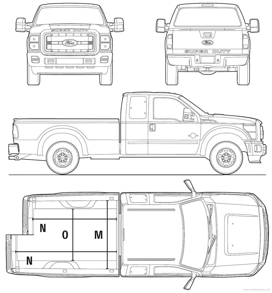 Ford super duty car cake templates pinterest ford super duty ford super duty malvernweather Image collections