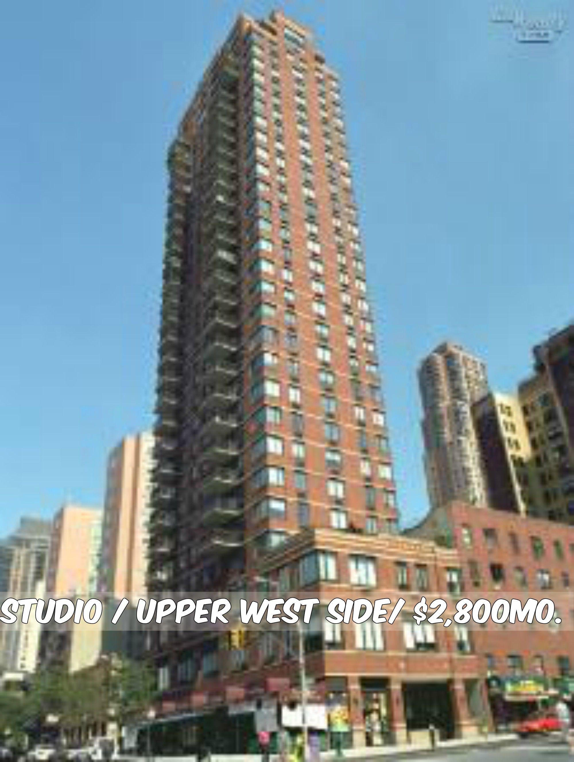 Studio Apt For Rent In West Side At 2 800 Mo Doorman Elevator