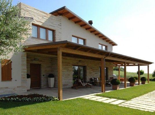 Case in legno oltre 200 mq Case di legno, Esterni casa
