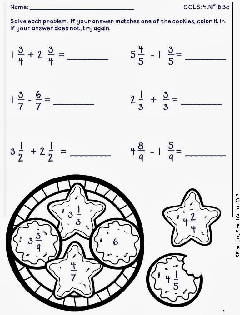 Pin By Elementary School Garden On Fourth Grade Teaching Ideas Math Classroom Posters Math Math Classroom Adding mixed numbers worksheets 4th