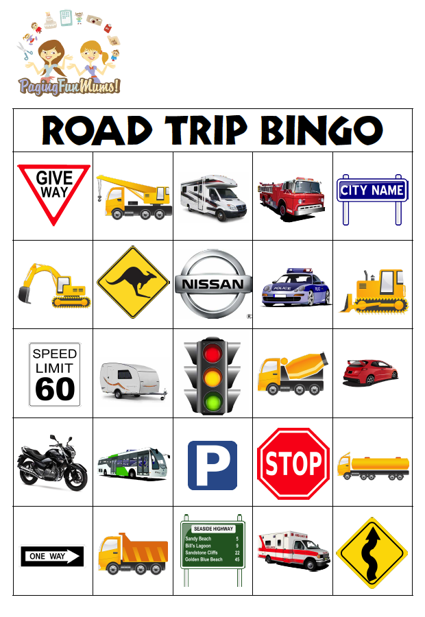 Road Trip Survival Guide + 10 Road Trip Games for Kids