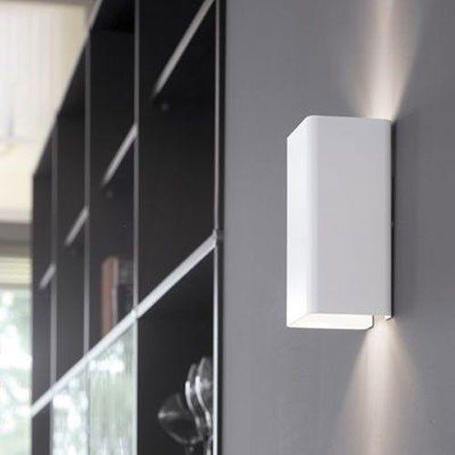 JEF 2 APPLIQUE MURALE BLANC de POOMLIGHTING