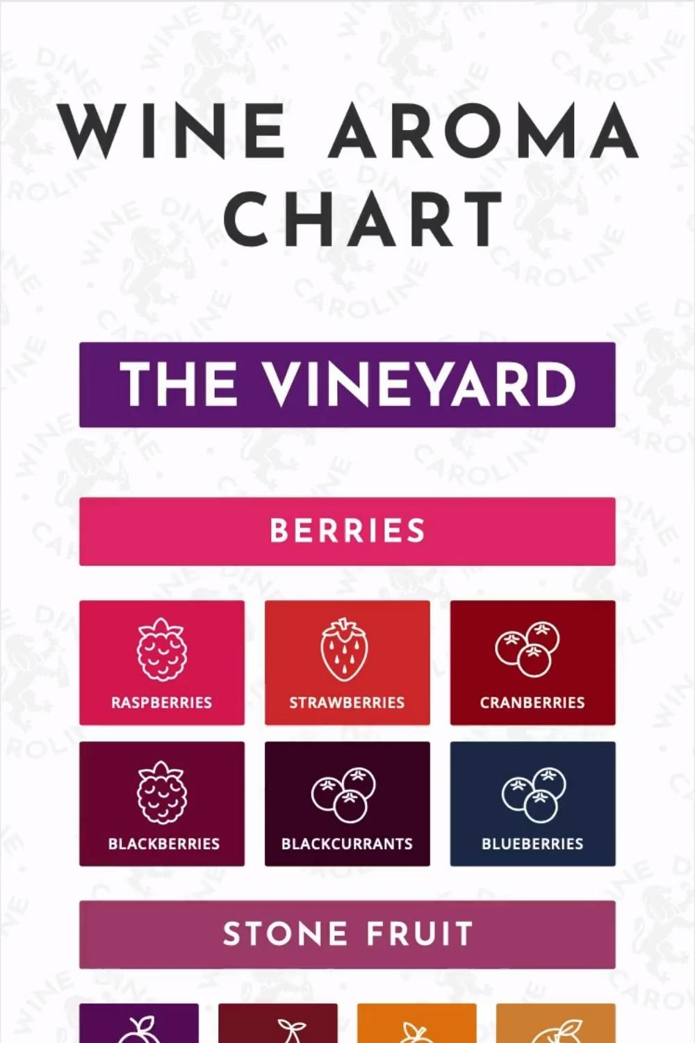 Wine Flavor Guide For Your Phone Video In 2020 Wine Flavors Wine Teacher Wine