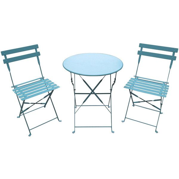 Bistro Set ($100) ❤ Liked On Polyvore Featuring Home, Outdoors, Patio  Furniture, Outdoor Patio Sets, 3pc Bistro Set, Outdoor Bistro Sets,  Outdoors Patio ...