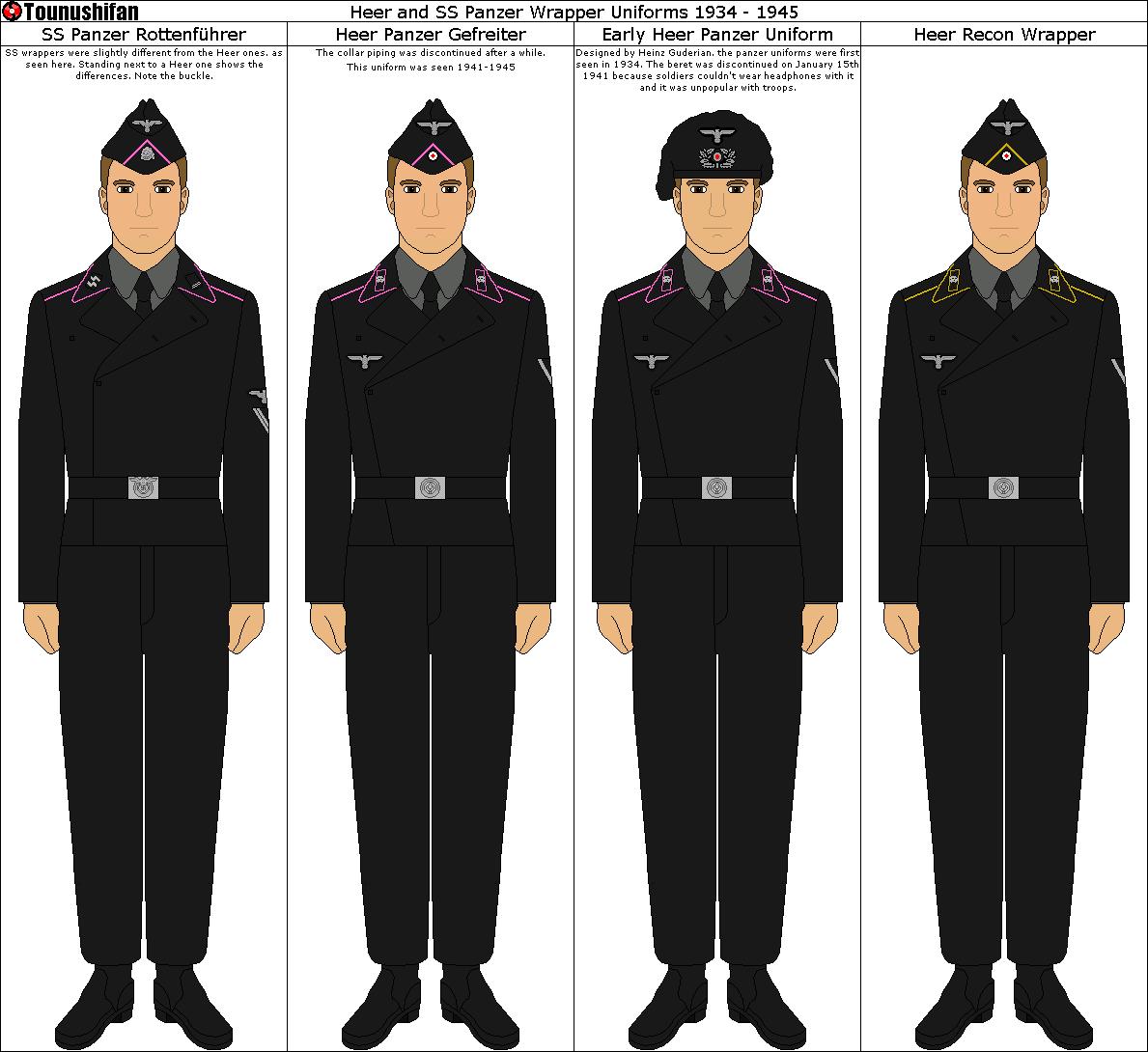 German Army UNTERFELDWEBEL Shoulder Boards WW2 Repro PIPING COLOUR OPTION