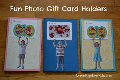End of the year teacher gift card holders and booklets