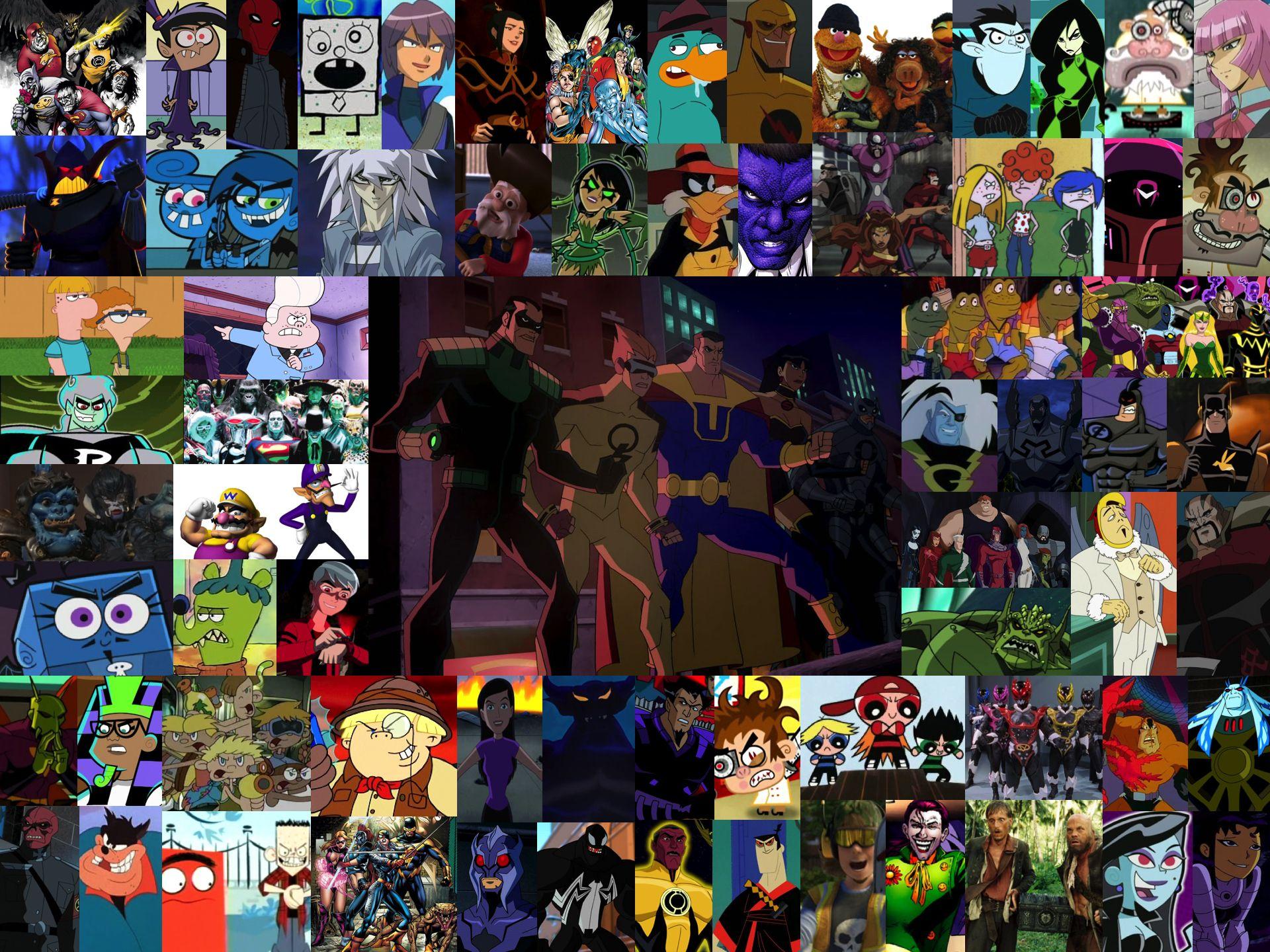 Evil Counterparts Evil, Artwork, Cartoon characters