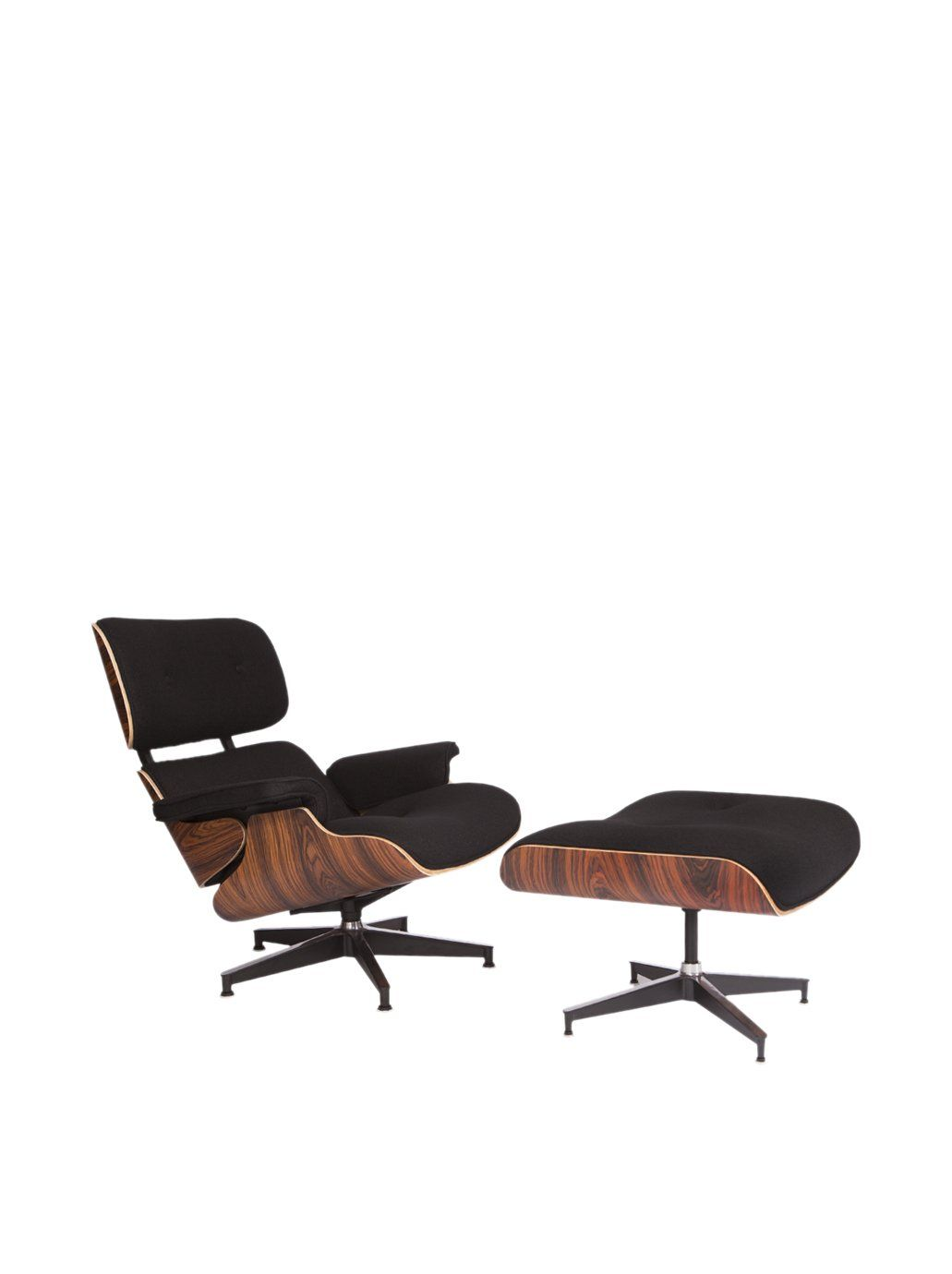 LeisureMod Modern Plywood Zane Lounge Chair U0026 Ottoman At MYHABIT