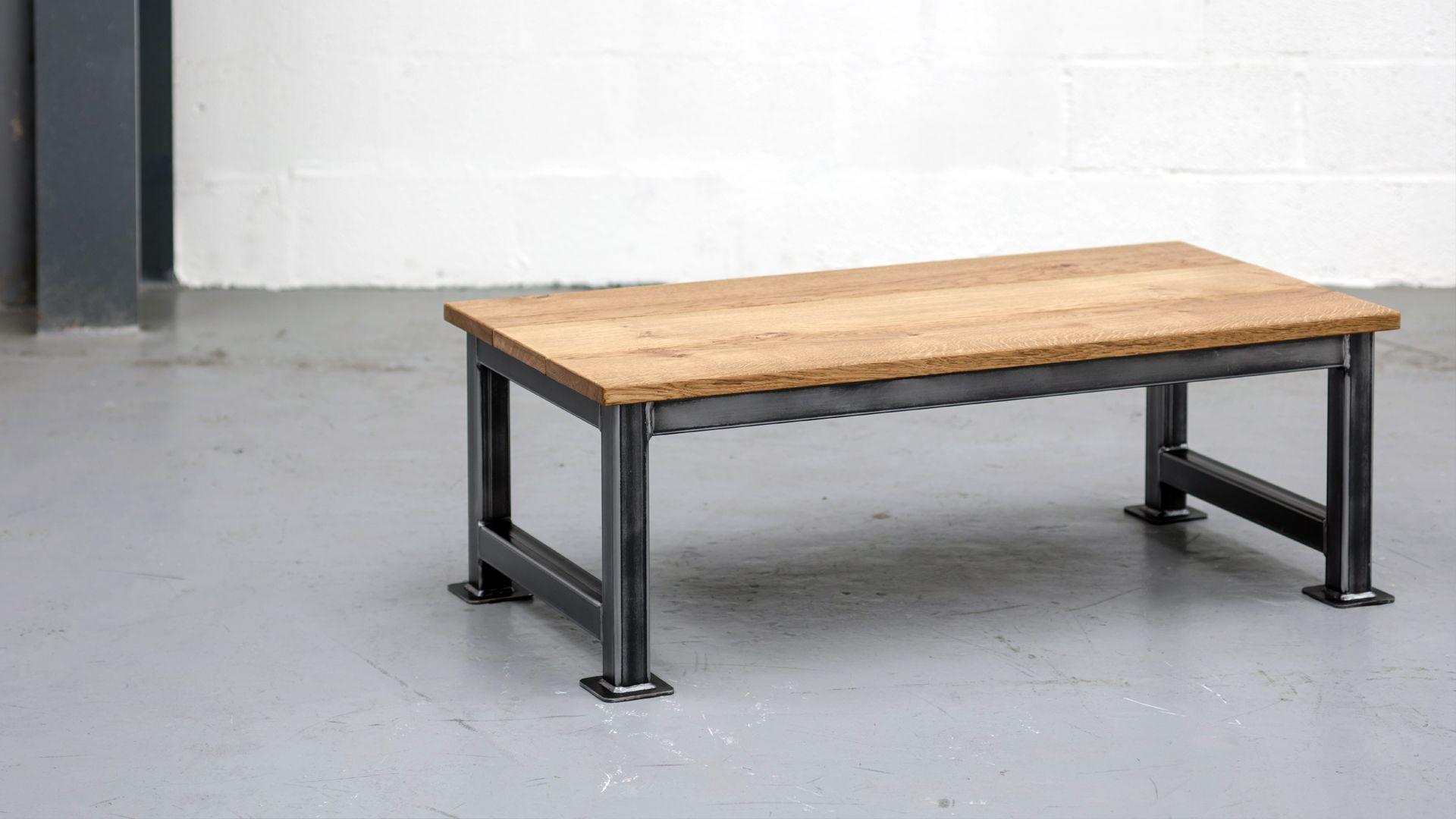 SALE ITEM   The Artisan Coffee Table By Steel Vintage