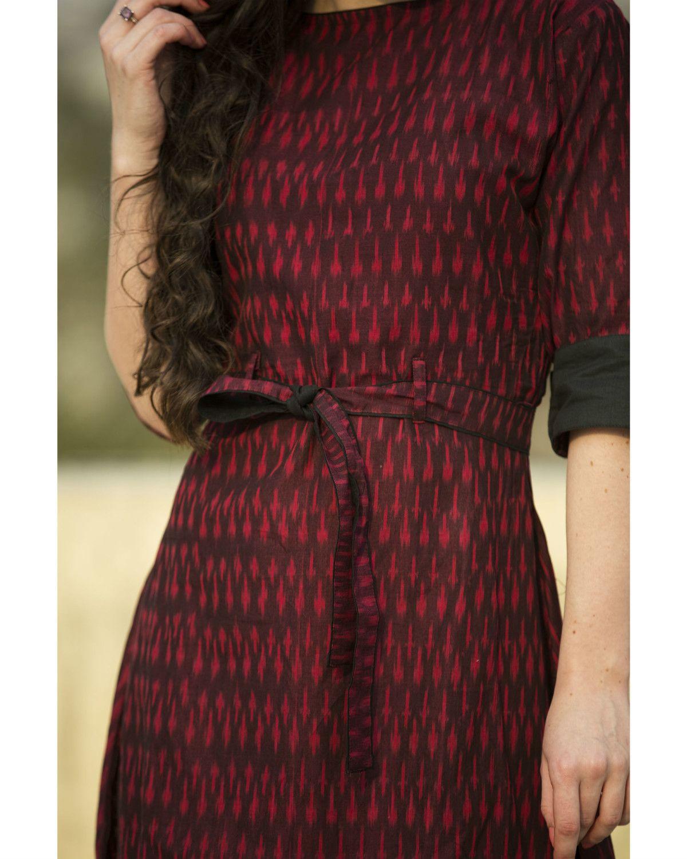 Shop Sangria Straight Cape The Secret Label Pakistani Fashion Fashion Wine Red Color