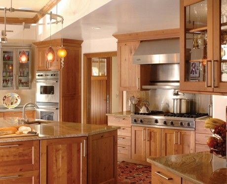 Charmant Ovation Cabinetry   Rustic Alder Shaker Style Kitchen