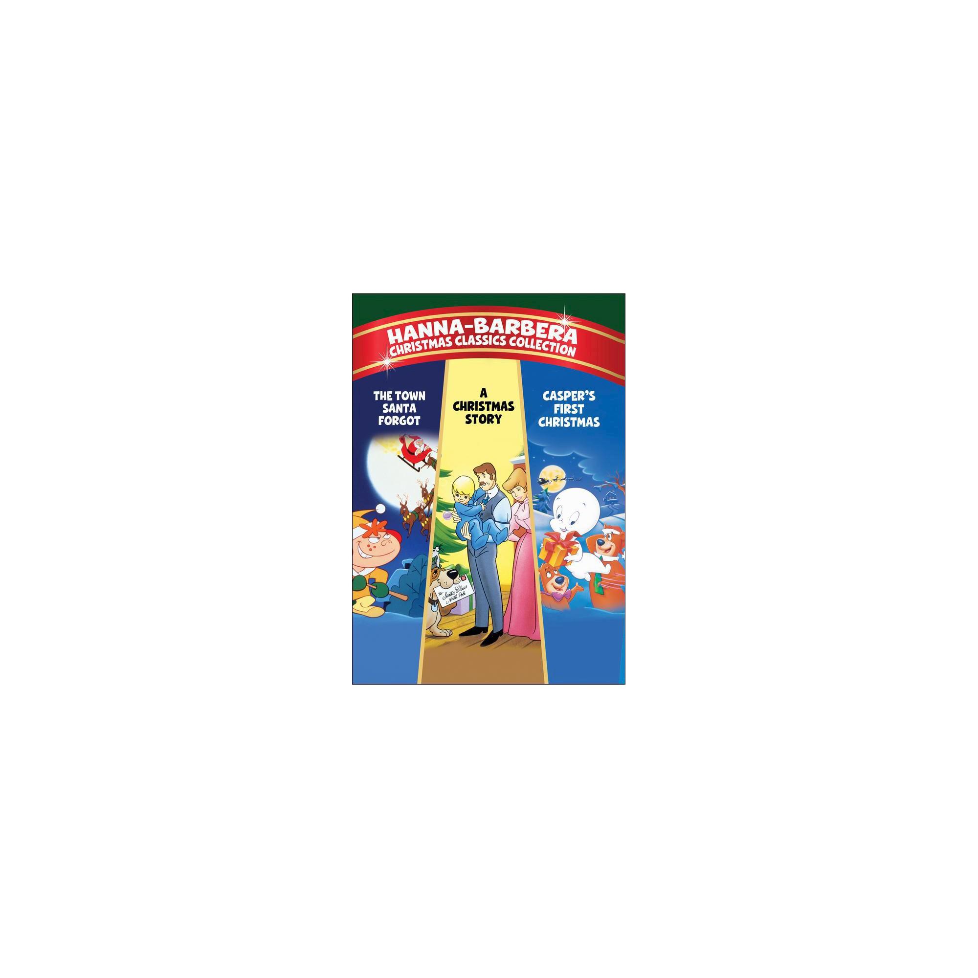 Hanna Barbera Christmas Dvd.Mod Hanna Barbera Christmas Classics 1971 93 Dvd Non