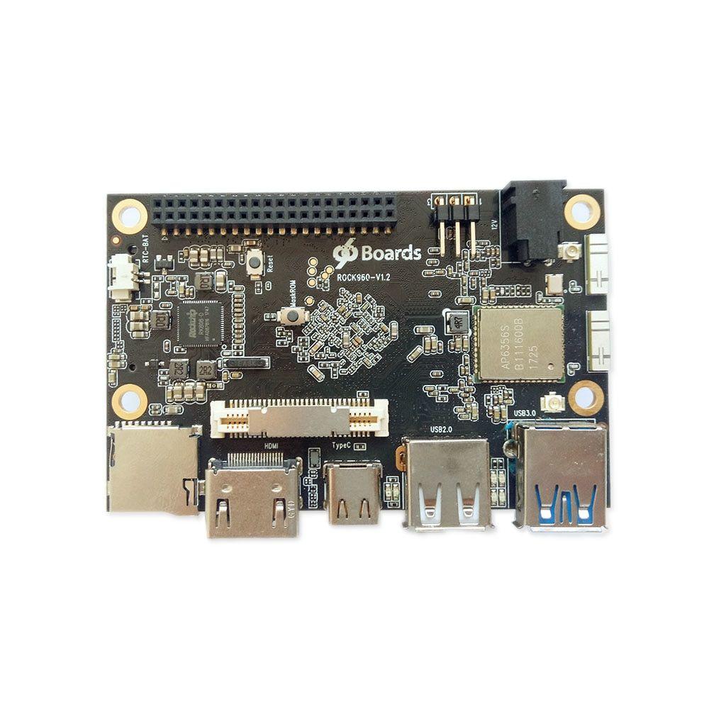 ROCK960 Board, Smallest RK3399 solution 96Boards (2GB or 4GB LPDDR3