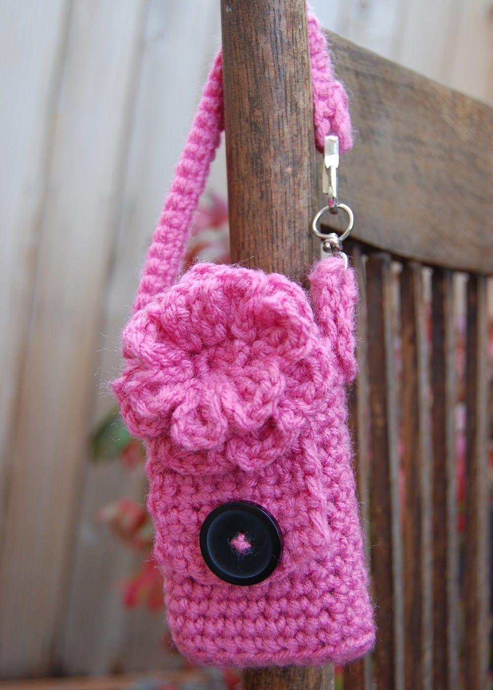 Bend Beanies: Cell Phone Case - Free Crochet Pattern! | CRAFTS:TECH ...