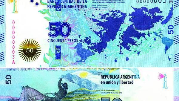 La Calle Pide Billetes Más Grandes Vale La Pena Otro De 50 Historia De La Moneda Billetes Argentina