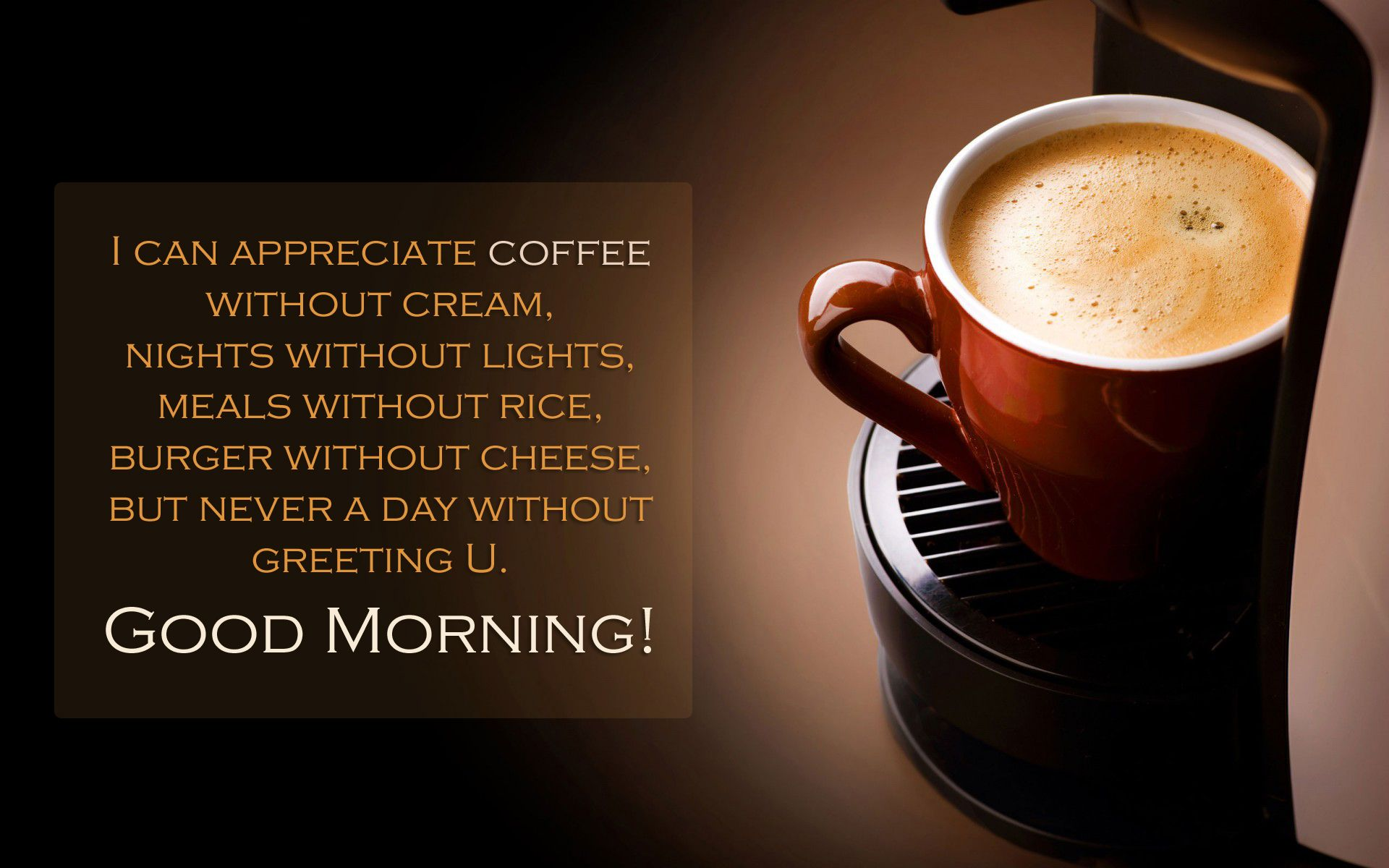 good morning quotes with coffee cup greetings download