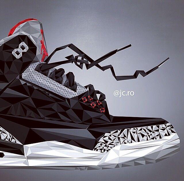 Air Jordan III Art