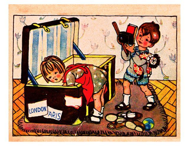 Vintage 1930s Childrens Book Illustrations German Childrens Book Illustration By Anny Enge Children S Book Illustration Storybook Art Vintage Children S Books