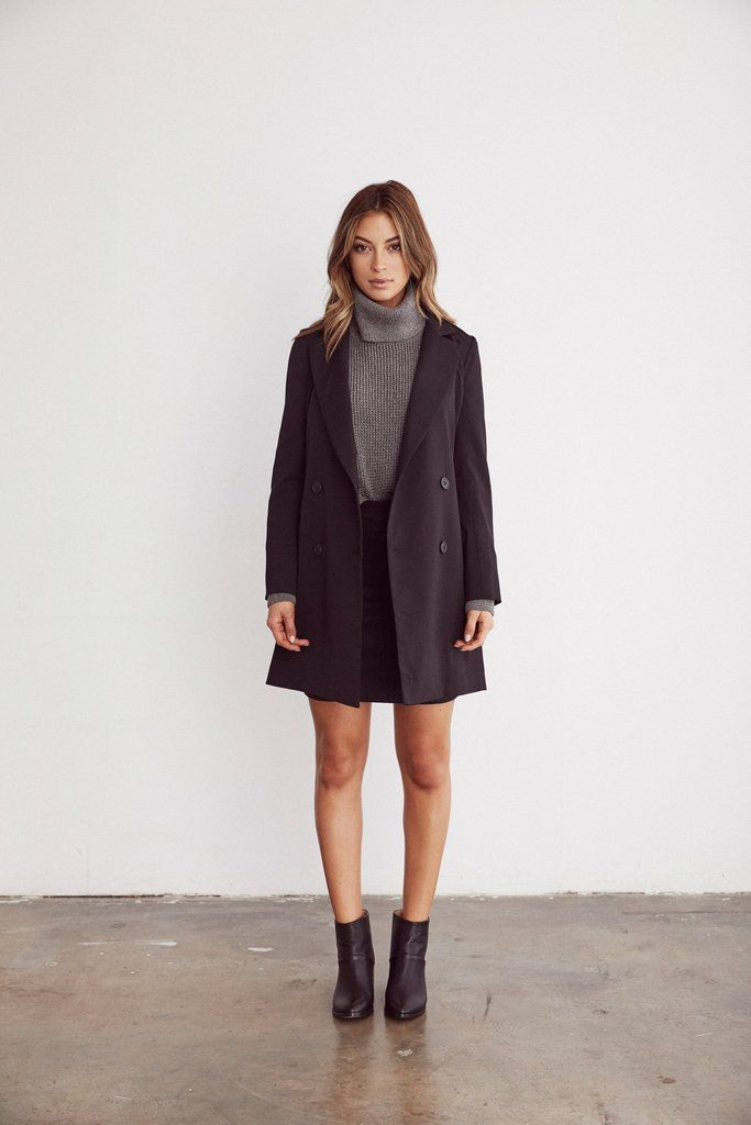 The Blazer Dress - VETTA -   20 style Winter dress ideas