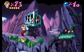 Rayman - Blue Mountains - The Hard Rocks - Cage 3.png