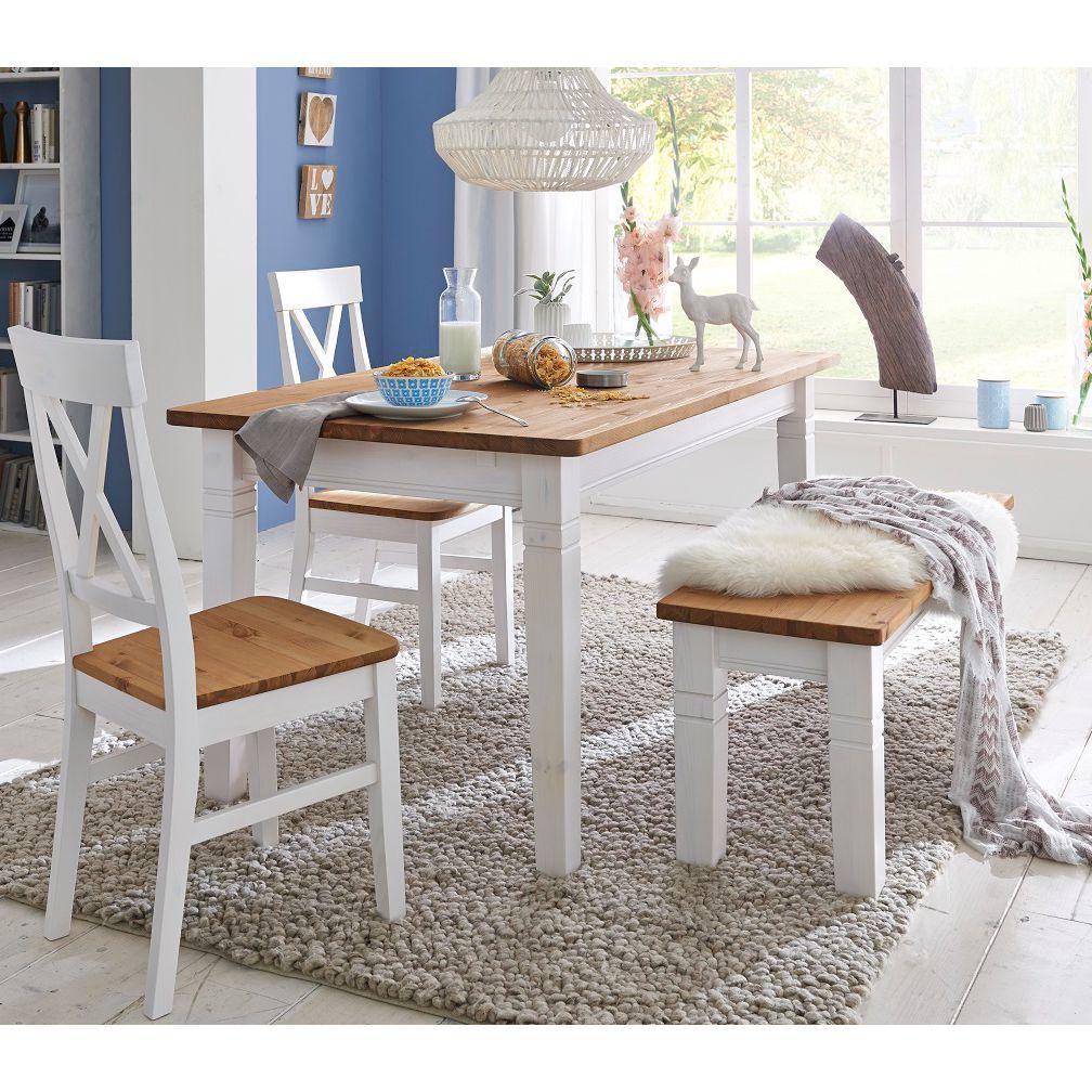 Holzbänke | Gemütliche Holzbank für dein Esszimmer | home24