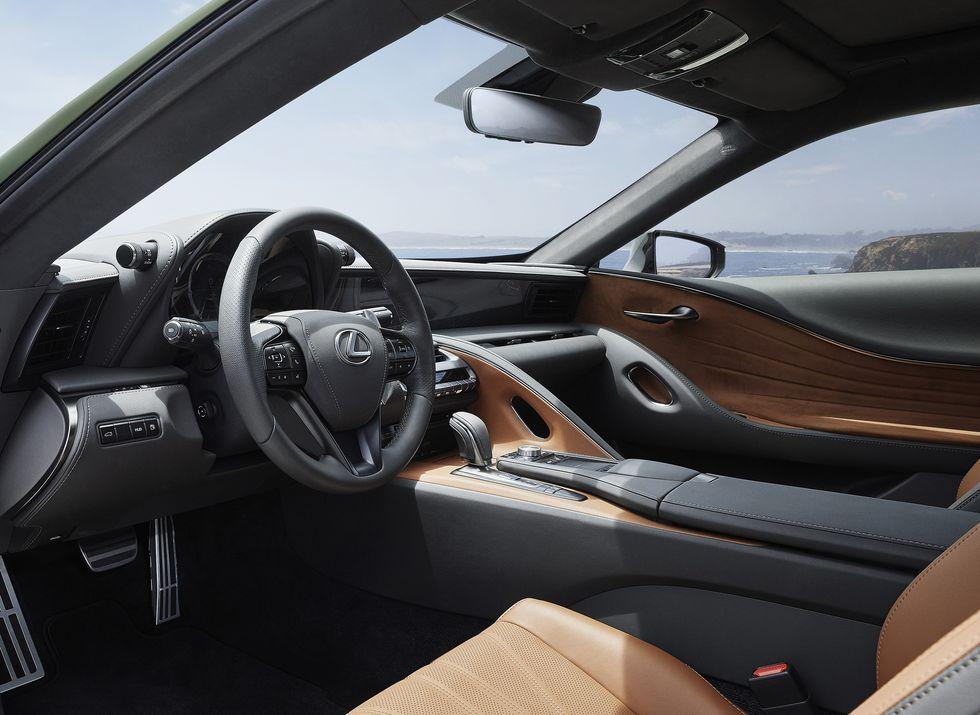 2020 Lexus Lc500 Inspiration Series Debuts In Nori Green In 2020 Lexus Lc Bmw Convertible Lexus