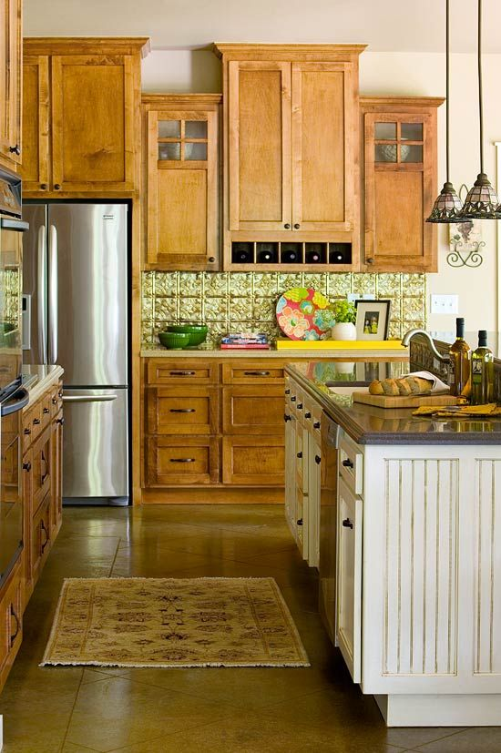 Distinctive Kitchen Cabinets with GlassFront Doors - Kitchen cabinet layout, Traditional kitchen design, Elegant kitchens, Kitchen design, New kitchen designs, Glass fronted kitchen cabinets - Cabinet doors with glass inserts boost a kitchen's appeal by showcasing favorite pieces and lightening the visual load of a room filled with metal and wood