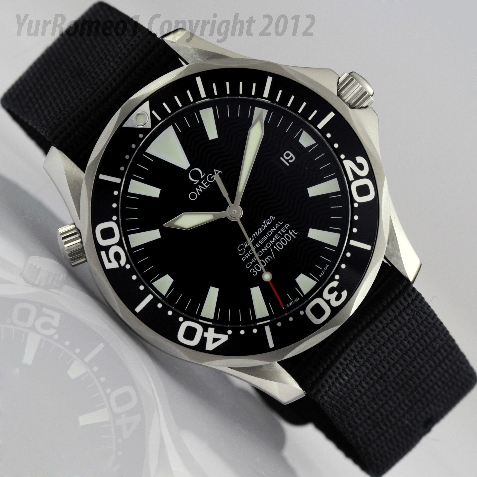 fff68ef0b30 Omega Seamaster Professional Chronometer Automatic 300m Black Dial 2254.50  - Best Omega Ever!