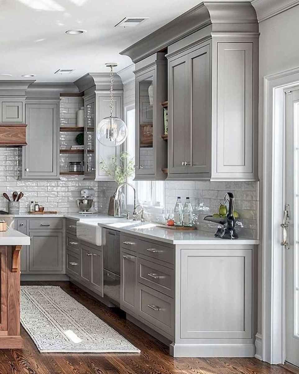 31 Awesome Gray Kitchen Cabinet Design Ideas Grey Kitchen Cabinets New Kitchen Cabinets Kitchen Cabinet Design