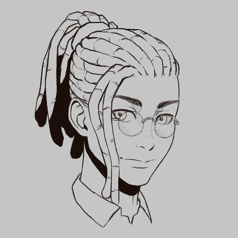 10 Amazing Drawing Hairstyles For Characters Ideas In 2020 Black Anime Characters Character Drawing Anime Character Design