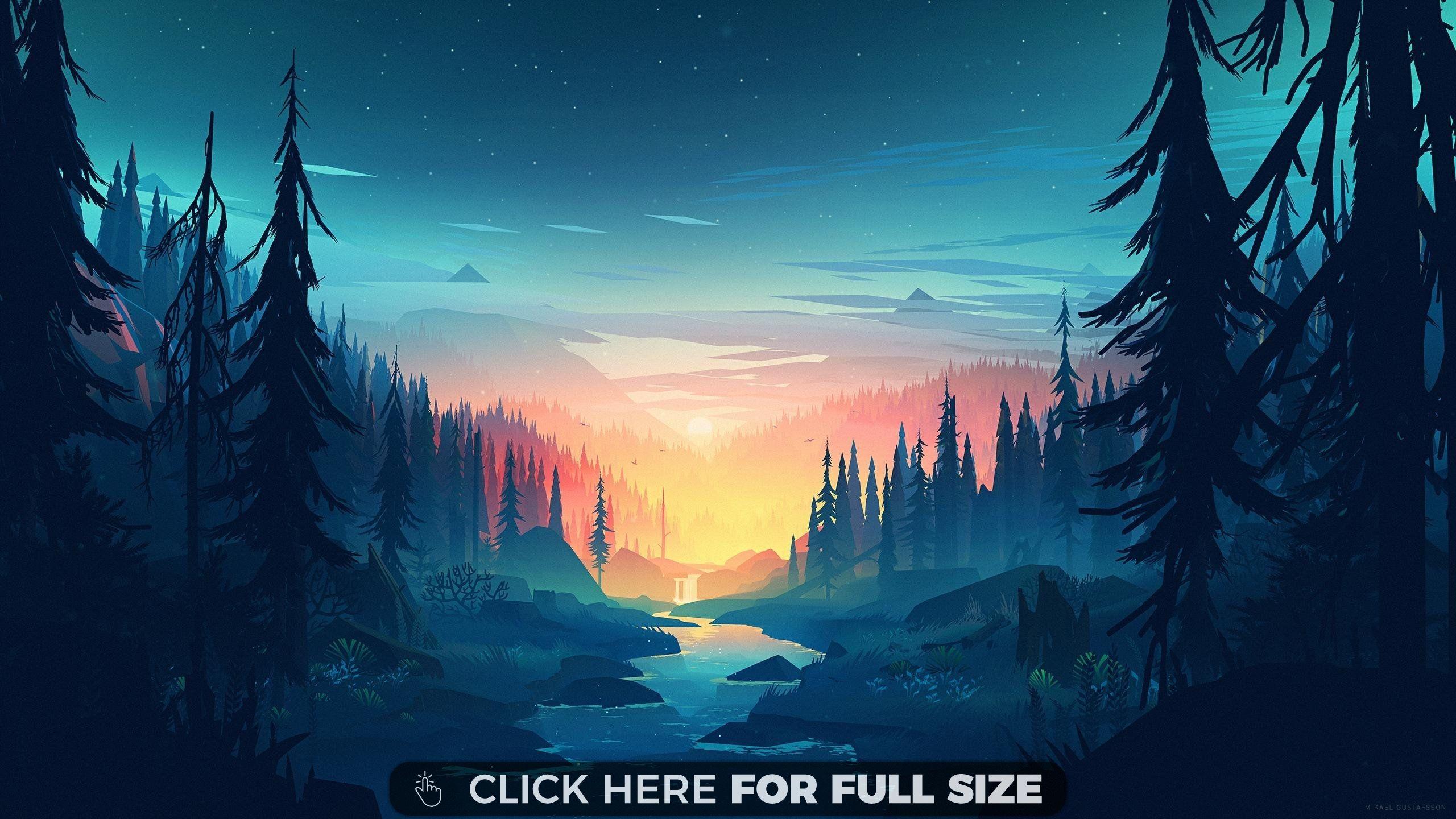 Mikael Gustafsson Forest Hd Wallpaper Scenery Wallpaper Landscape Wallpaper Desktop Wallpaper Art
