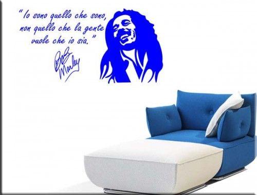 Adesivi Murali Bob Marley.Adesivi Da Parete Frase Amore Camera Da Letto Adesivi Murali