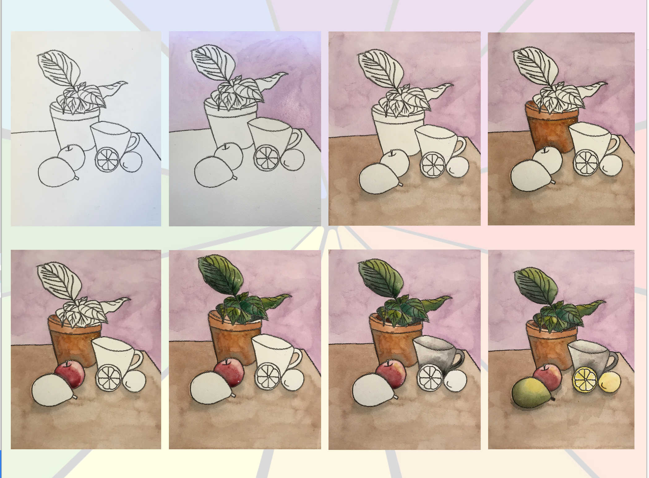 Still Life Art Project For Elementary Or Middle With