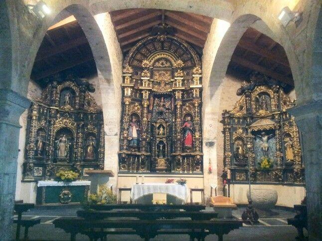 Interior iglesia san miguel arcangel_moreruela de tabara