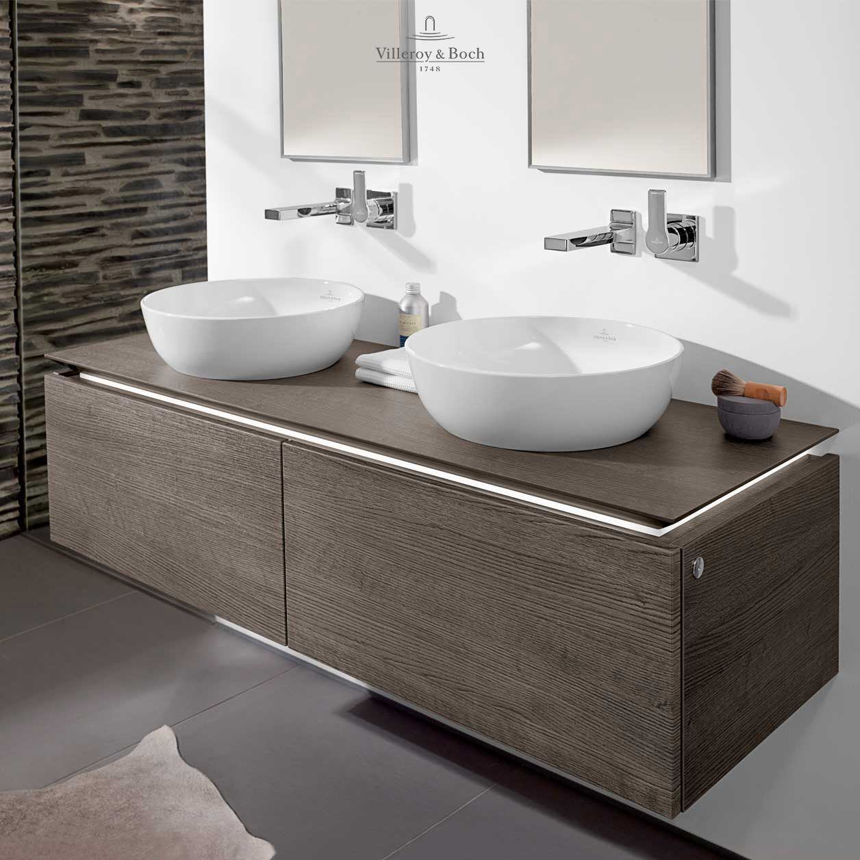 oak graphite villeroy boch Amazing bathrooms, Bathroom