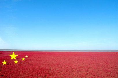 In Panjin: Der röteste Strand des Planeten liegt in China - TRAVELBOOK.de